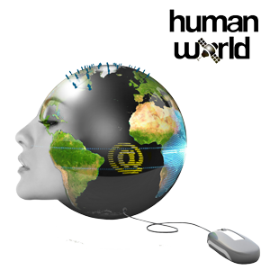 Human World Logo